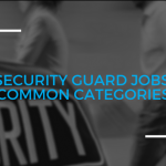 Security Guard Jobs: Common Categories